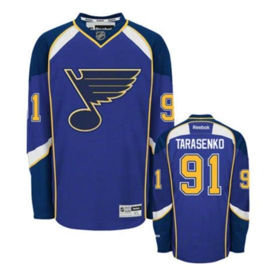 Vladimir Tarasenko St. Louis Blues Premier Home Reebok Jersey - Royal Blue