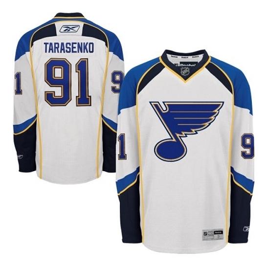 Vladimir Tarasenko St. Louis Blues Authentic Away Reebok Jersey - White