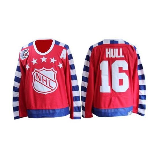 Brett Hull St. Louis Blues Authentic 75TH Throwback CCM Jersey - Red