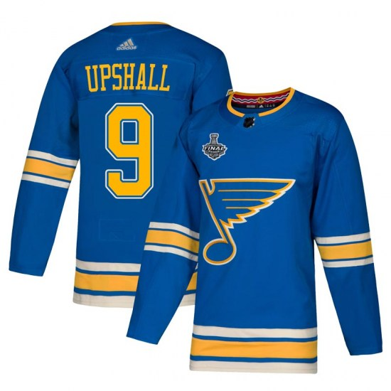 Scottie Upshall St. Louis Blues Authentic Alternate 2019 Stanley Cup Final Bound Adidas Jersey - Blue