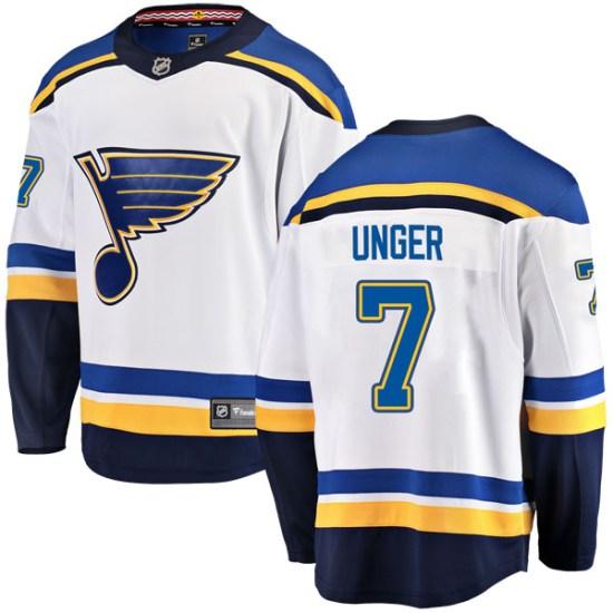 Garry Unger St. Louis Blues Breakaway Away Fanatics Branded Jersey - White