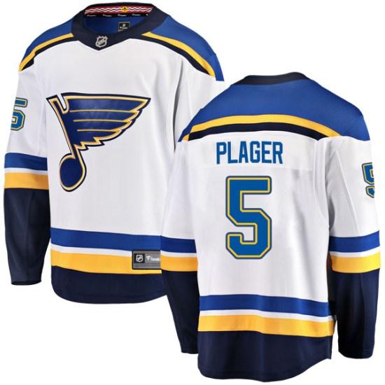 Bob Plager St. Louis Blues Youth Breakaway Away Fanatics Branded Jersey - White
