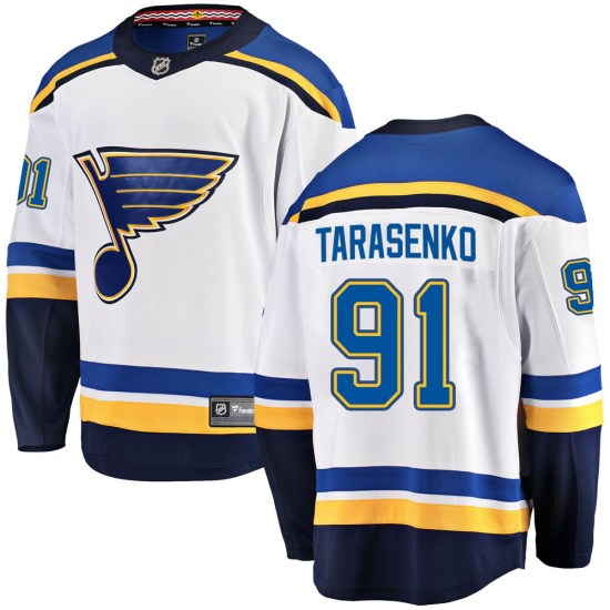 Vladimir Tarasenko St. Louis Blues Youth Breakaway Away Fanatics Branded Jersey - White