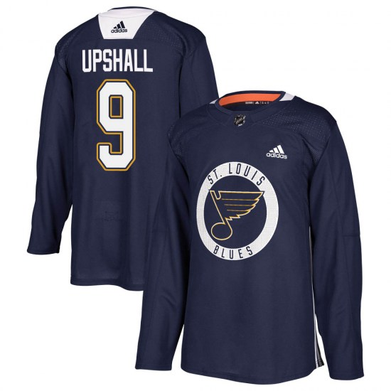 Scottie Upshall St. Louis Blues Youth Authentic Practice Adidas Jersey - Blue