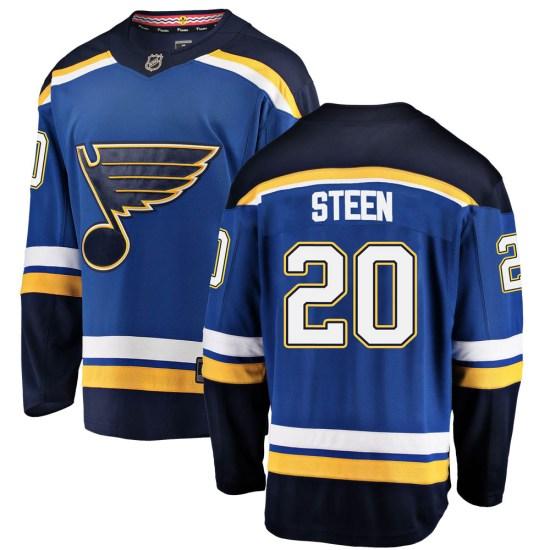 Alexander Steen St. Louis Blues Youth Breakaway Home Fanatics Branded Jersey - Blue