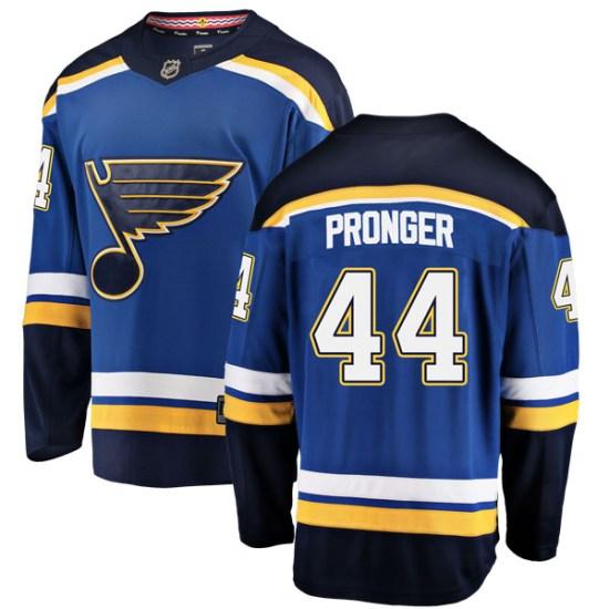 Chris Pronger St. Louis Blues Breakaway Home Fanatics Branded Jersey - Blue