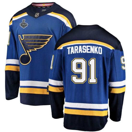 Vladimir Tarasenko St. Louis Blues Youth Breakaway Home 2019 Stanley Cup Final Bound Fanatics Branded Jersey - Blue