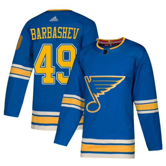 Ivan Barbashev St. Louis Blues Youth Authentic Alternate Adidas Jersey - Blue
