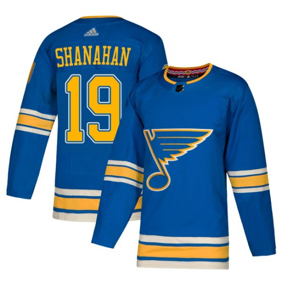 Brendan Shanahan St. Louis Blues Youth Authentic Alternate Adidas Jersey - Blue