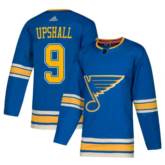Scottie Upshall St. Louis Blues Youth Authentic Alternate Adidas Jersey - Blue