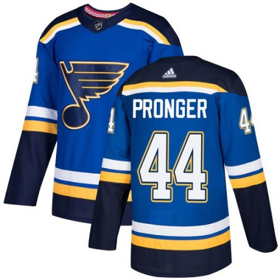 Chris Pronger St. Louis Blues Youth Authentic Home Adidas Jersey - Royal Blue