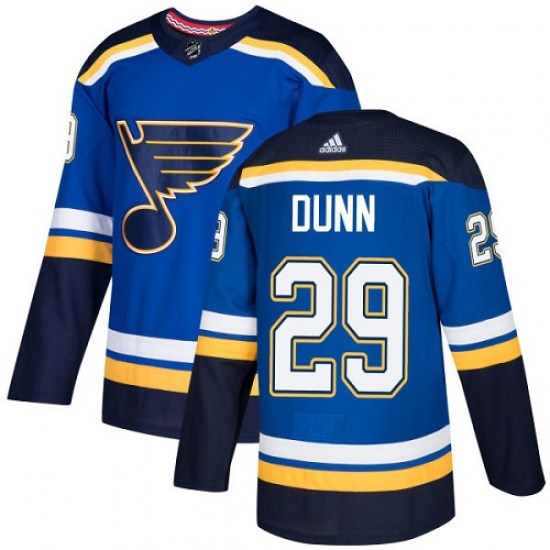 Vince Dunn St. Louis Blues Youth Authentic Home Adidas Jersey - Royal Blue